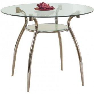 Adam kör alakú üveglapos étkezőasztal - Üveglapos étkezőasztal ...